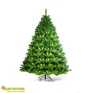 Albero Di Natale Ebay.Albero Di Natale 210 Cm Artificiale Alberta Spruce Realistico Pino Abete Verde Ebay
