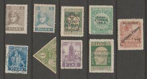 Italy-Revenue-Fiscal-Cinderella-stamps-ma37-Fiume-postal
