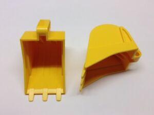 2x Bagger Schaufel 4x7 Digger Bucket Shovel 42055 6145856 24120 LEGO Technic