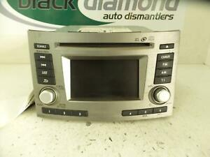 SUBARU-OUTBACK-STEREO-RADIO-HEAD-UNIT-DASH-STACKER-5TH-GEN-09-09-11-14