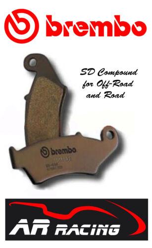 Brembo SD Sintered Rear Brake Pads to fit Suzuki RM 85 K5-K9 2005/>