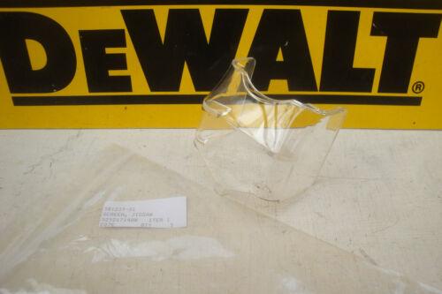 Véritable DeWalt DC330 DW331 DCS331 Jigsaw écran capot avant 581239-01