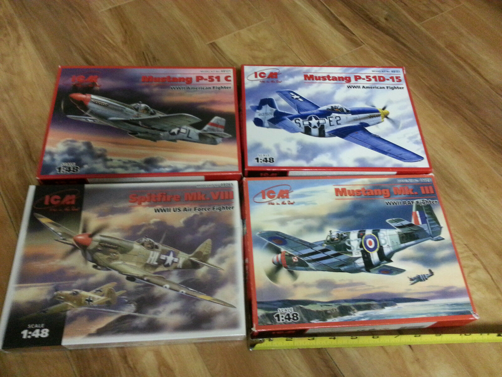 Oltre 5 YR Old 4 Autentico ICM Mustang sputafuoco caccia kit hobby 1 48