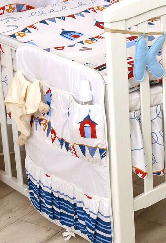 ORGANISER BABY BOY//GIRL COT TIDY NURSERY COT BED SET
