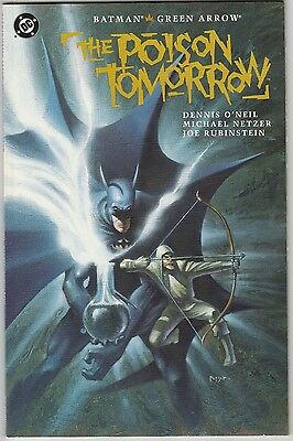 Efficient 2 Dc Comics Batman/green Arrow Poison Tomorrow Batman Returns Movie Tw41 Good Companions For Children As Well As Adults Comics Collectibles