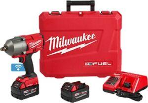 Milwaukee-2863-22-M18-One-Key-High-Torque-Impact-Wrench-Kit