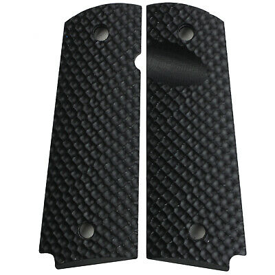1911 CCW Grips Black G10 Full Size Compact Springfield EMP PT1911