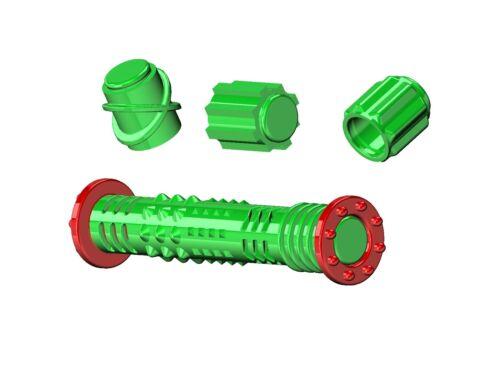 Mega Roller Glow in the Dark Hand Fidget with 10 alternating sensory pieces