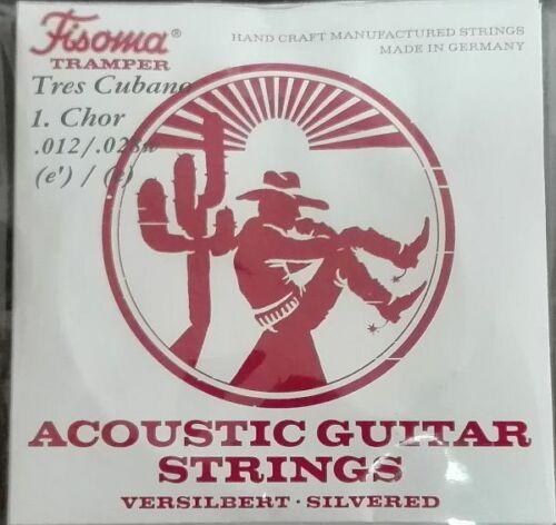 Cuban Tres strings with loop end Fisoma Saiten für Tres Cubano mit Schlaufe