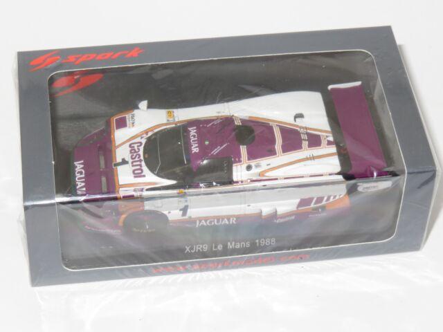 1/43 JAGUAR XJR-9 LM JAGUAR stipule Le Mans 24 hrs 1988 #1 M. Brundle/J. Nielsen