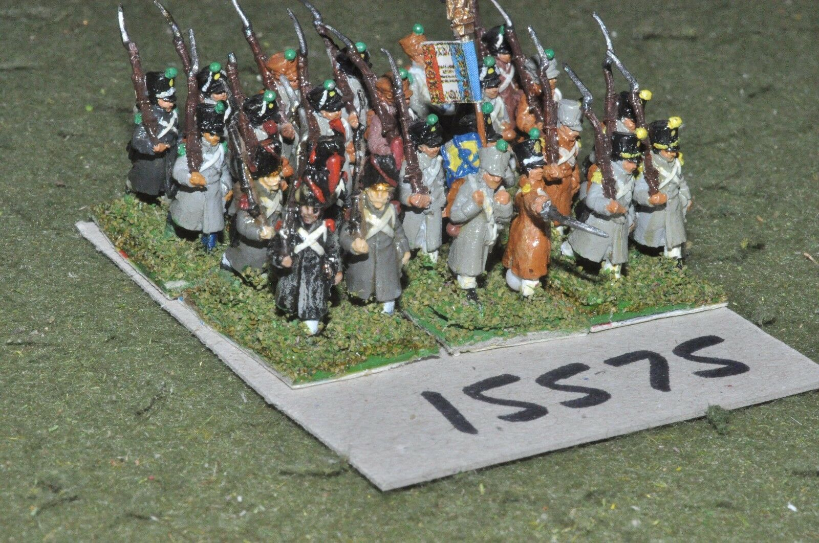 15mm napoleonic   french - infantry 24 figs - inf (15575)