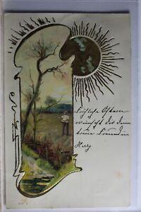 AK-Deutschland-Kuenstlerkarte-1901-gebraucht-PD812