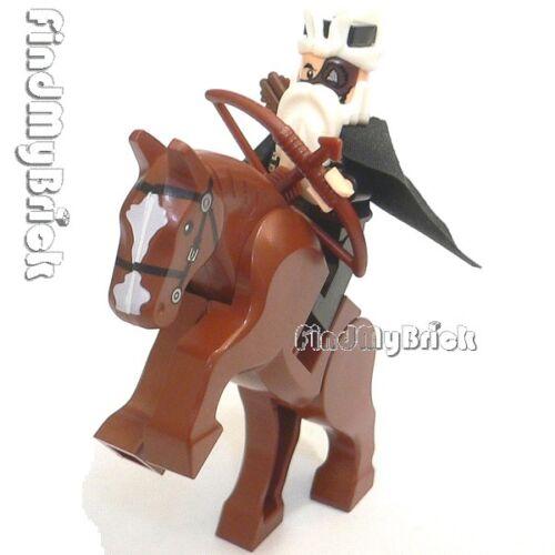 NEW Lego Three Kingdoms Custom Huang Zhong Minifigure /& Horse 三国の黃忠 神兵落月弓 と 燎原火