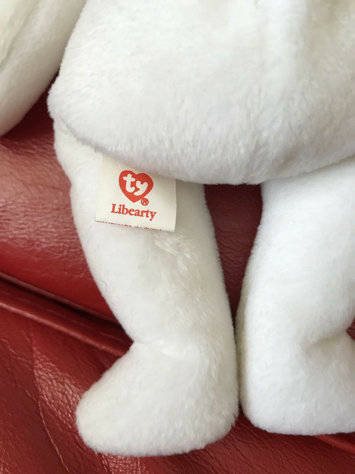 TY Beanie Bear Libearty Rare Rare Rare & Retired 44044c