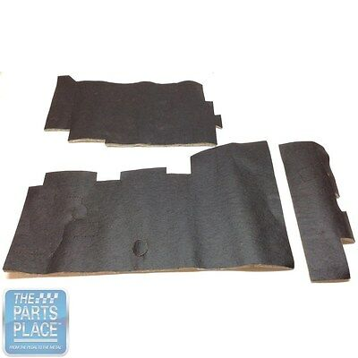 1968-72 GM Dash Insulation Kit - Die Cut