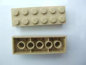 Parts /& Pieces - 4181134 size 2x6 2 x Lego Brick yellow Brick