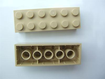 LEGO Yellow Brick 2x6 25 to 100 Pieces