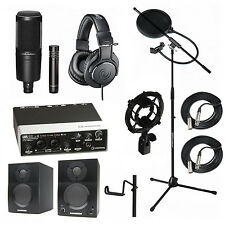 Audio Technica AT2041SP Steinberg UR22MKII Samson Media ONE BT3 Speakers