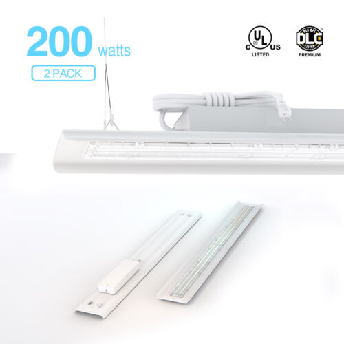 14,000lm 5000K  2-pack 100W Hyperlite Linear LED High Bay Shop Light Fixture