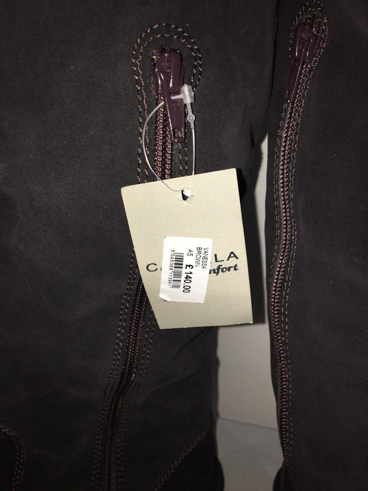 Carvela Knee High High Knee Braun Suede Stiefel 04bc33