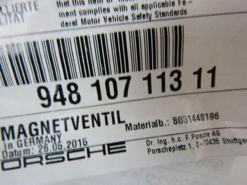 Porsche 997.2 987.2 991.1 981 957 958 4,8L Magnetventil Ölpumpe 20/% NEU+ORIG