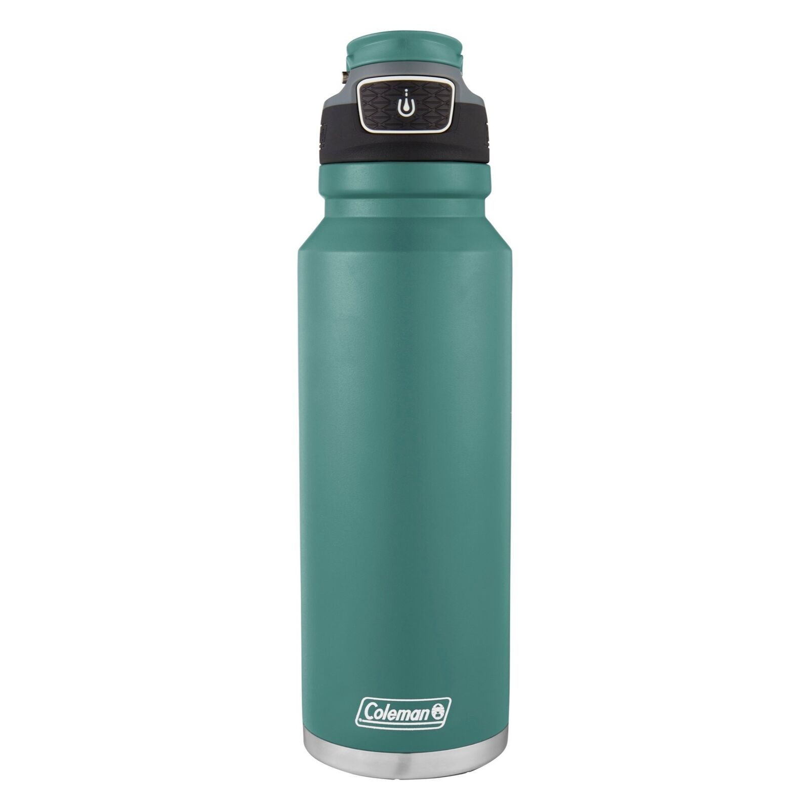 Coleman FreeFlow Autoseal Water Bottle 40oz Seafoam bluee Stainless Steel Sport