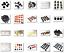 Lego-chapeaux-cheveux-Casques-Femelle-Male-Couleur-Choisir-Briques-NEUF miniature 1