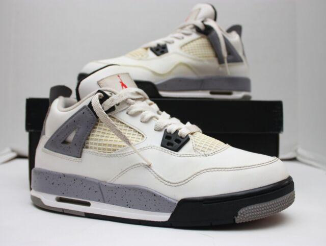 b9893e0cd41ac6 ... shopping 2012 nike air jordan iv 4 retro white cement grey black 408452  103 6.5y