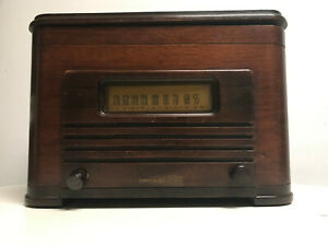 General-Electric-GE-Mid-Century-AM-Radio-Record-Player-Phonograph-Model-LCP-510