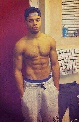 Shirtless Male Jock Muscular Ripped Body Builder Jock