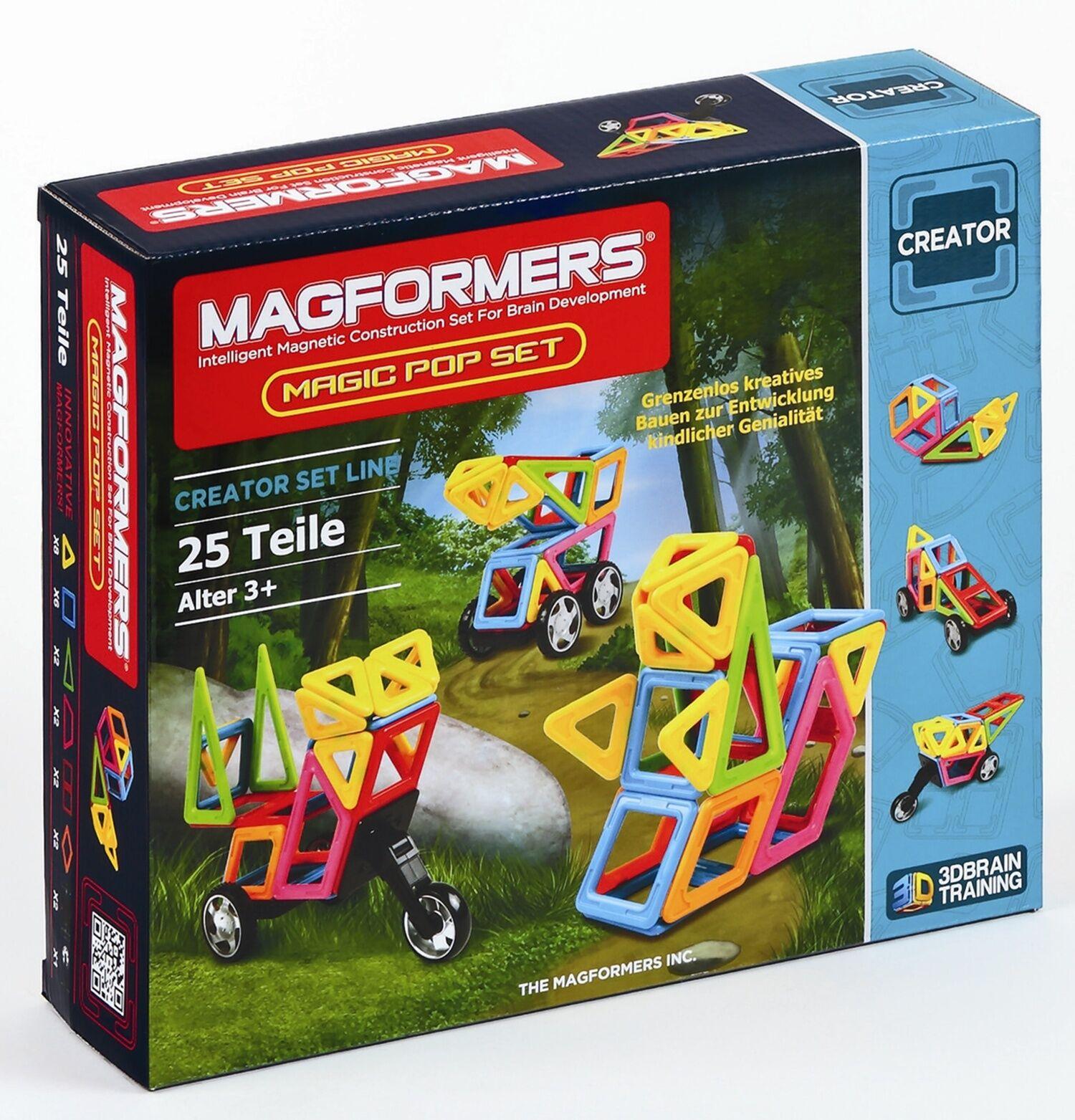 Célébrez Célébrez Célébrez Noël et bienvenue au Nouvel An Magformers-Magic pop set magnétique de conception matériel (274-39) 6c5f49