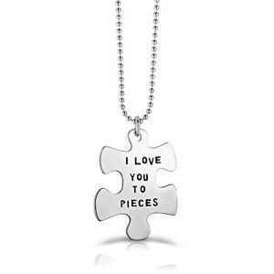 Rozzato-034-I-LOVE-YOU-TO-PIECES-034-Puzzle-Piece-Pendant-Necklace