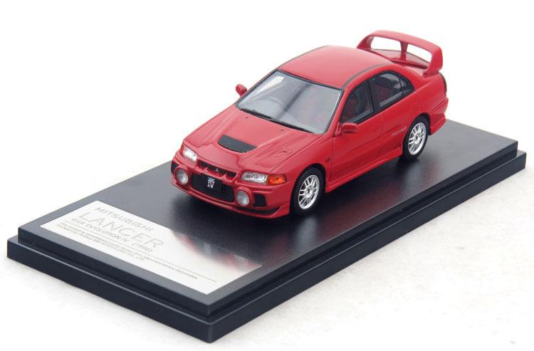 1 43 Hi-Story Mitsubishi LANCER GSR GSR GSR EVOLUTION Ⅳ 1996 Red  HS150RE 2d2219