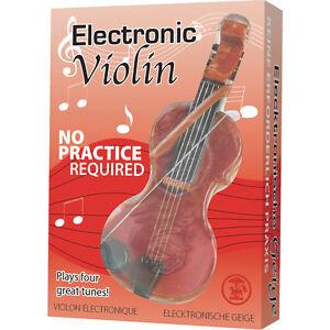 mini violino elettronico con arco diverse melodie batterie incluse incluse10 cm
