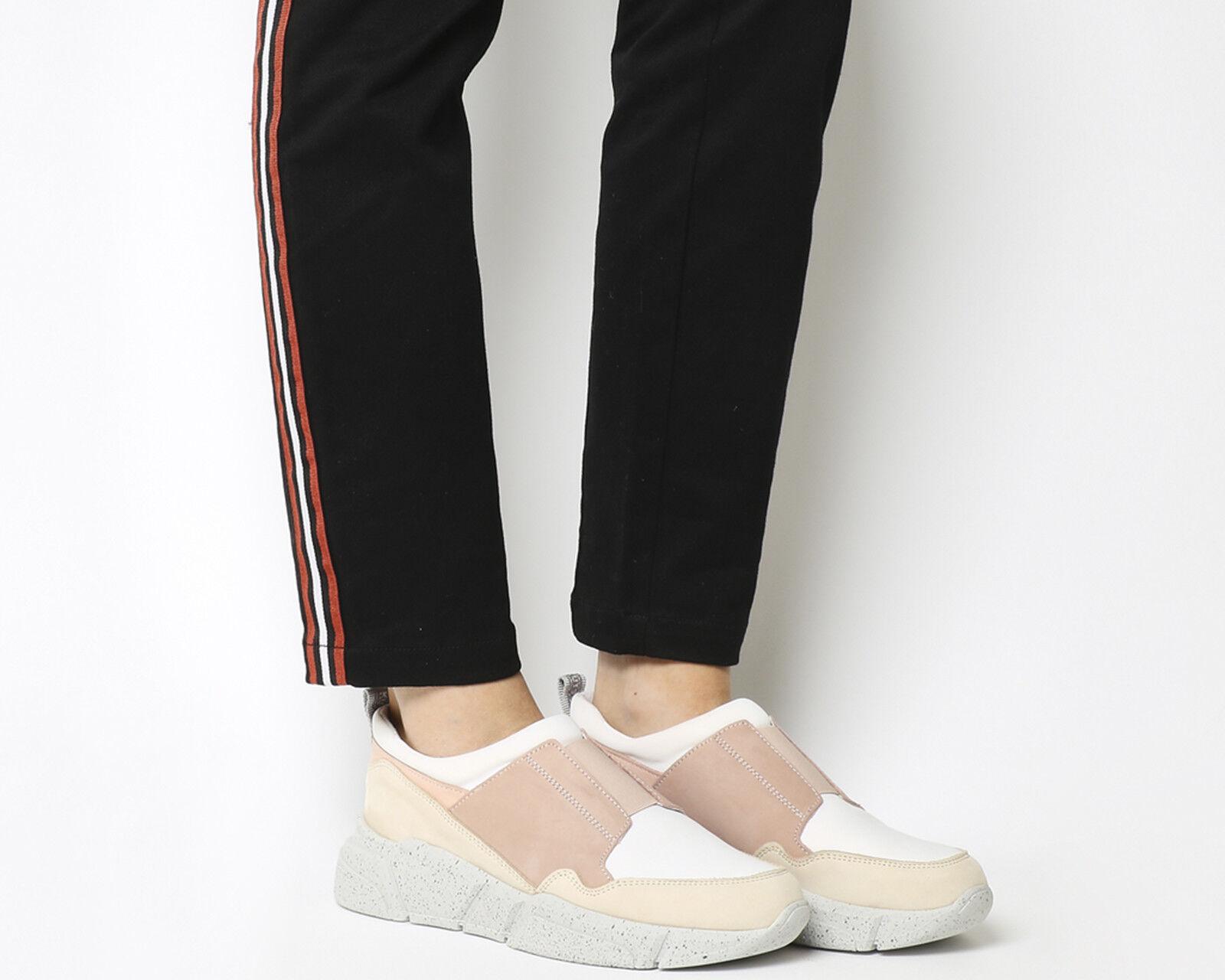Zapatos de mujer baratos zapatos de mujer Descuento por tiempo limitado Womens Oki Kutsu Hideki Slip On Runners BLUSH GREY Flats