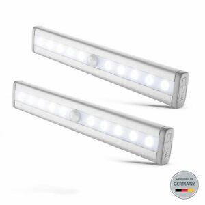 Dettagli su Lampada LED Sottopensile Cucina Schrank-Licht Luce Notturna  Sensore di Movimento