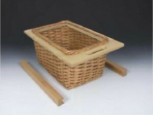 Image Is Loading Pull Out Wicker Baskets Kitchen Storage Larder Base