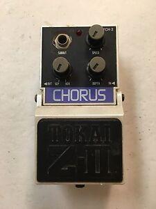 Tokai-TCH-2-Z-II-Analog-Chorus-Rare-Vintage-Guitar-Effect-Pedal-MIJ-Japan