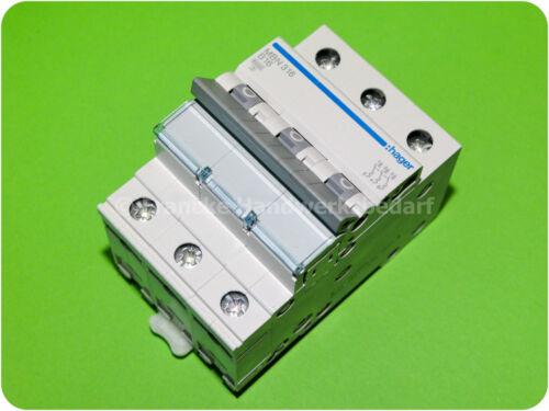 Hager MBN316 B 16 A 3-polig Leitungsschutzschalter