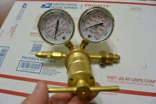 Victor Argon Helium Nitrogen Gas Regulator Single Stage Brass 100 To 1500psi