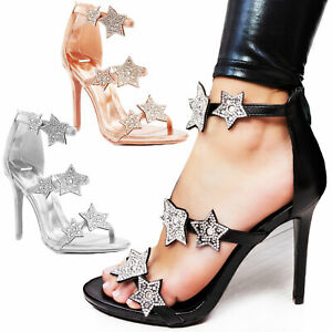 Zapatos Elegantes Sandalias De Strass Sexy Toocool Joya Mujer Salón uTkZPXiO