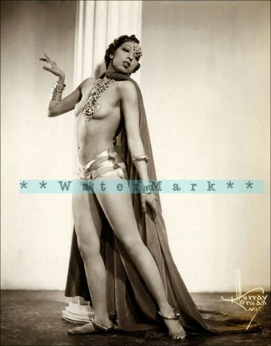 Josephine Baker 1949 Vintage Poster Print Retro Style Art Dancer Singer Actress