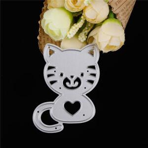 Metal-Cats-Cutting-Dies-Stencils-DIY-Scrapbook-Photo-Albums-Embossing-Folders