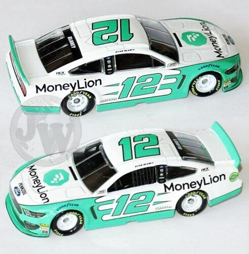Ryan Blaney MONEY LION #12 PENSKE MUSTANG NASCAR 2019 1:64 Lionel