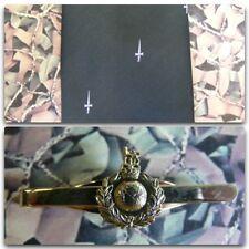 42 Commando Royal Marines (Crest) Tie Set With RM (light) Tie Bar (white dag)