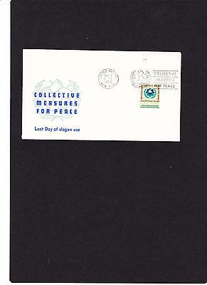 """Uno New York Brief Mi.nr """" 124 """" Mit Sloganstempel 07.05.1963 Siehe Scan Produkte HeißEr Verkauf"""