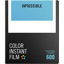 Impossible Instant Color Film for Polaroid 600 type cameras (PRD4514)