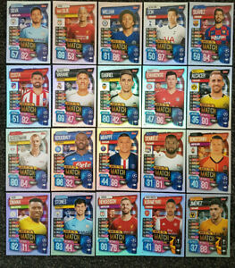 2019-20-Match-Attax-UEFA-Champions-League-Soccer-Cards-Full-Sets-Buy-3-Get-1