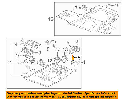 Chevrolet GM OEM 2016 Spark Overhead Roof Console-Map Lamp Bulb 13503363