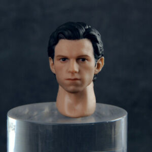US 1//12 Tom Holland Head Sculpt Carved Fit 6/'/' Male Action Figure Body Doll Toy